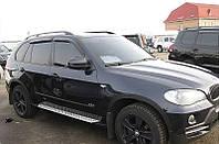 Дефлекторы окон BMW X5 2007-(E70) (БМВ Х5) SIM