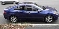Дефлекторы стекол HONDA Accord 2008- (Хонда Аккорд) SIM
