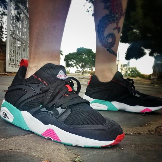 Кроссовки в стиле Puma Blaze of Glory x Sneaker Freaker Shark Attack Pack  мужские - Интернет 84ab4a4a8da