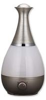 Увлажнитель воздуха с функцией ароматизации Vitalex VL-8000 серебристый, увлажнитель воздуха с подсветкой