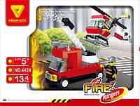 Пожарные спасатели Dreamlock Пожарная техника (4424)