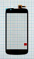 Тачскрин сенсорное стекло для Fly IQ4413 Quad Evo Chic 3 black