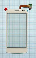 Тачскрин сенсорное стекло для Fly IQ4417 Quad Era Energy 3 white