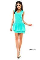 Женское летне платье 041 жан