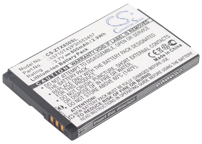 Аккумулятор для ZTE N600+ 800 mAh