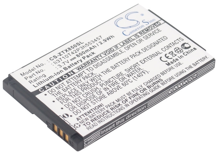 Аккумулятор для ZTE T3020 800 mAh