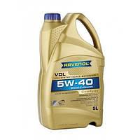 RAVENOL Синтетическое моторное масло RAVENOL VDL 5W-40 (5)