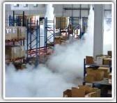Системы постановки охранных дымовых завес от вторжения воров и грабителей