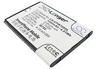 Аккумулятор для Coolpad W708 1300 mAh