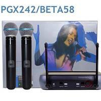 Радиомикрофон SHURE PGX 242-UHF. Только Опт! В наличии! Украина! Лучшая цена!, фото 1
