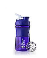 Шейкер BLENDERBOTTLE бутылка 590ML спортивная,фиолетавая