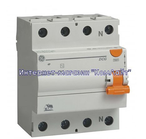 Устройство защитного отключения 4P 40A General Electric DCG440/300 4P AC (Венгрия)