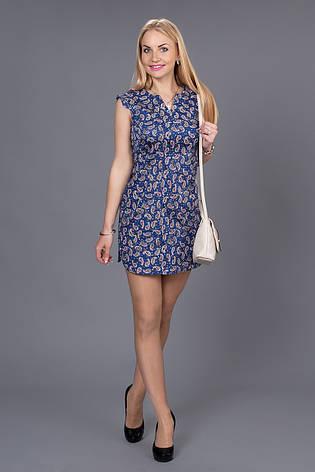 Молодежное летнее платье, фото 2