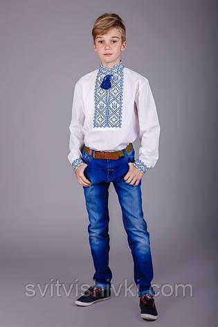 Хлопчача сорочка з українською символікою, фото 2