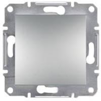 Выключатель Schneider-Electric Asfora Plus 1-клавишный алюминий