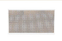 """Панель декоративная перфорированная """"Эфес"""", из ХДФ 60 см х 120 см х 3,2 мм"""