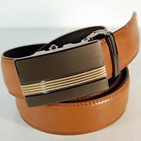 Ремень кожаный мужской Alon коричневый (H5495)