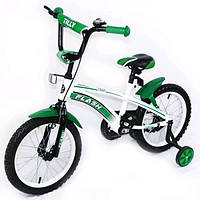 Велосипед TILLY FLASH 16 BT-CB-0043 GREEN, детский велосипед Baby Tilly