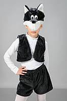 Детский Карнавальный меховой костюм Волк