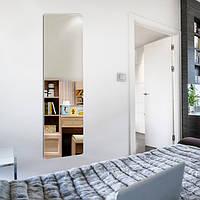 Большое зеркало в дом серебро