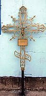 Кованый крест №4