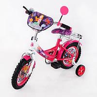 Велосипед TILLY Русалка 12 T-21221 crimson + white, детский велосипед