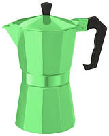 Con Brio Гейзерная кофеварка 9 порций зеленая tp6009CB-GR