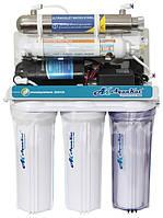 Фильтр для воды Осмос с помпой,UV Лампа, 75G RO-6; А03