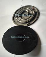 Конфорка з вбудованим теном для китайських електроплит Ø185мм, 1500W
