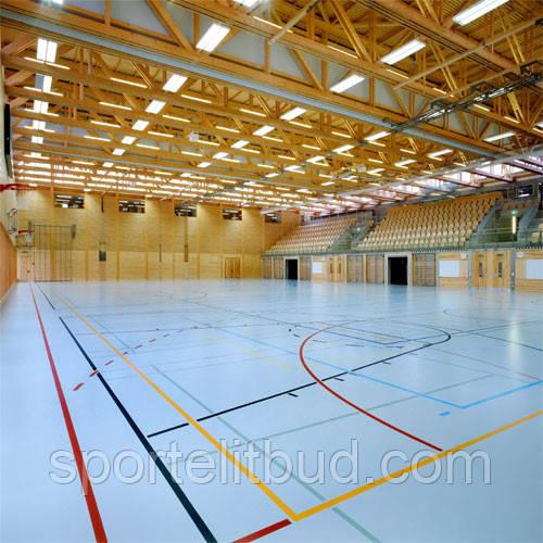 Покриття  для спортивних залів  з поліуретану CONIPUR HG