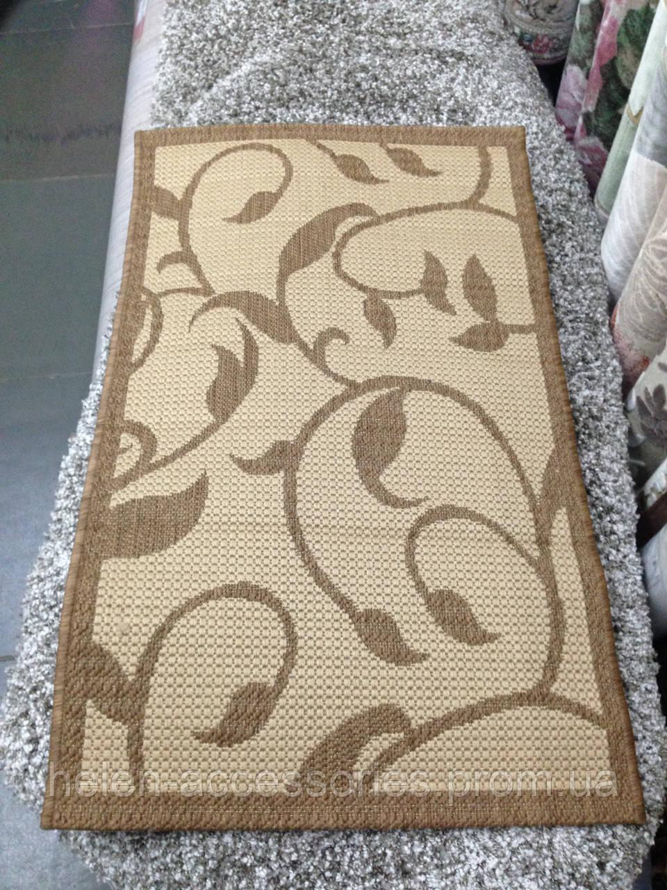 432Прямоугольный плетеный коврик