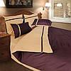 Семейное постельное белье ТЕП Дуэт коричневый