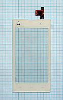 Тачскрин сенсорное стекло для Fly IQ4418 Era Style 4 white