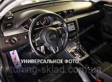 Накладки на панель Форд Ф'южн (декор салону Ford Fusion під алюміній)