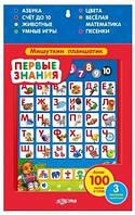 Детская книга Азбукварик Обучающая игрушка Первые знания Мишуткин планшетик