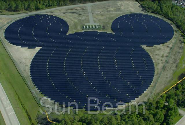 Солнечная электростанция Микки Маус