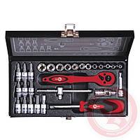 Набор инструментов Intertool (Интертул) ET6028 28 предметов