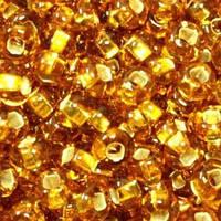 Чешский бисер Preciosa 464- 17070к, золото, блестящий