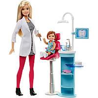 Кукла барби стоматолог с аксессуарами и мебелью Barbie Dentist