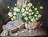 «Розы 2» картина маслом