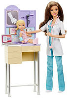 Кукла Барби доктор с аксессуарами и мебелью Barbie