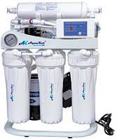Фильтр для воды Осмос c помпой, манометром, электронным контроллером 300G RO-5; C10