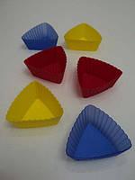 Набор из 6 силиконовых корзинок треугольников