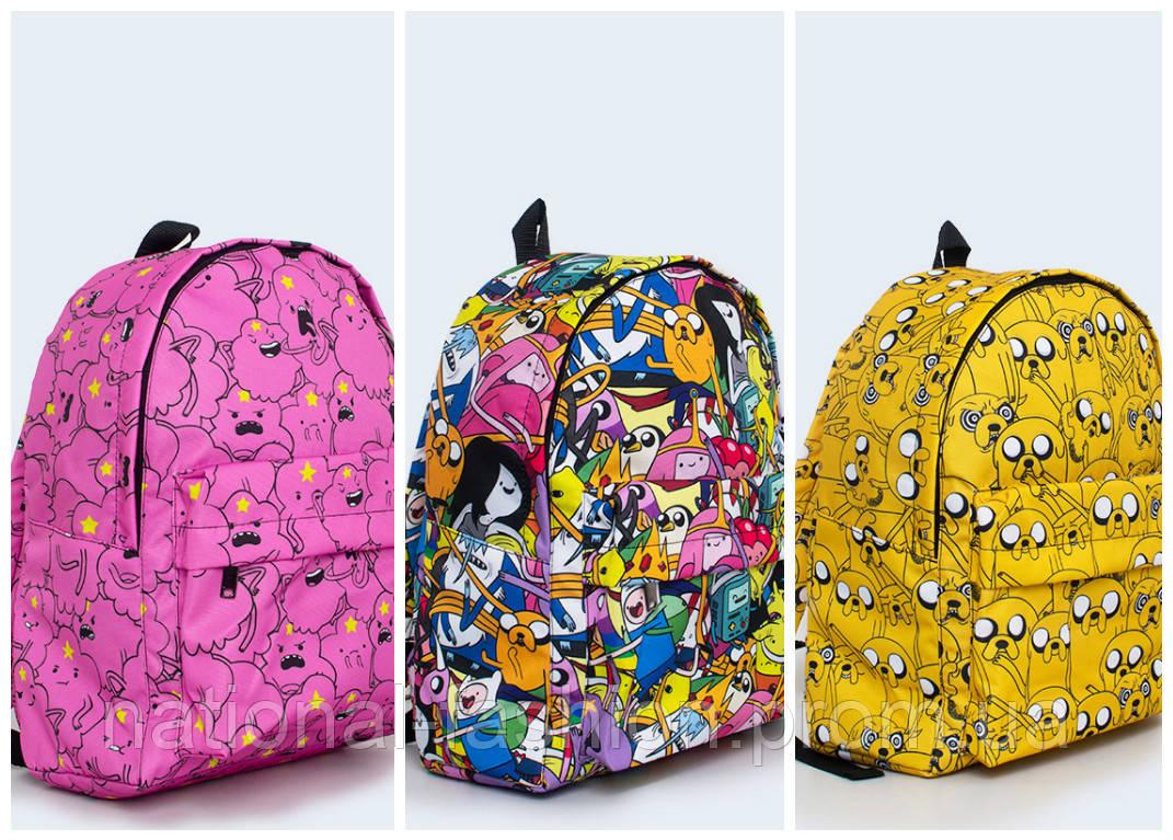 Рюкзаки с принтом время приключений школьный рюкзак на колёсах modan explore клетка радуга арт.74340052
