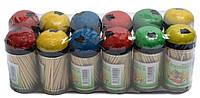 Зубочистки бамбуковые Макси (12уп./бл., 600 уп./ящ.)