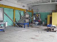 Линия промывки, сушки и фасовки соли NaCl производительностью до 6 т/ч.