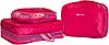 Дорожный органайзер (сумочки в чемодан) 5 шт ORGANIZE (розовый), фото 2