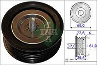 Ina - Ролик ременя приводного Мерседес Спринтер 516 Дизель 2006 -  (532067110)