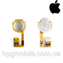 Шлейф для iPhone 3GS, кнопки меню, с компонентами, оригинал