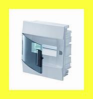 Распределительный щиток встраиваемый ABB Mistral IP41 8M 232x250x108 с клеммным блоком PE+N
